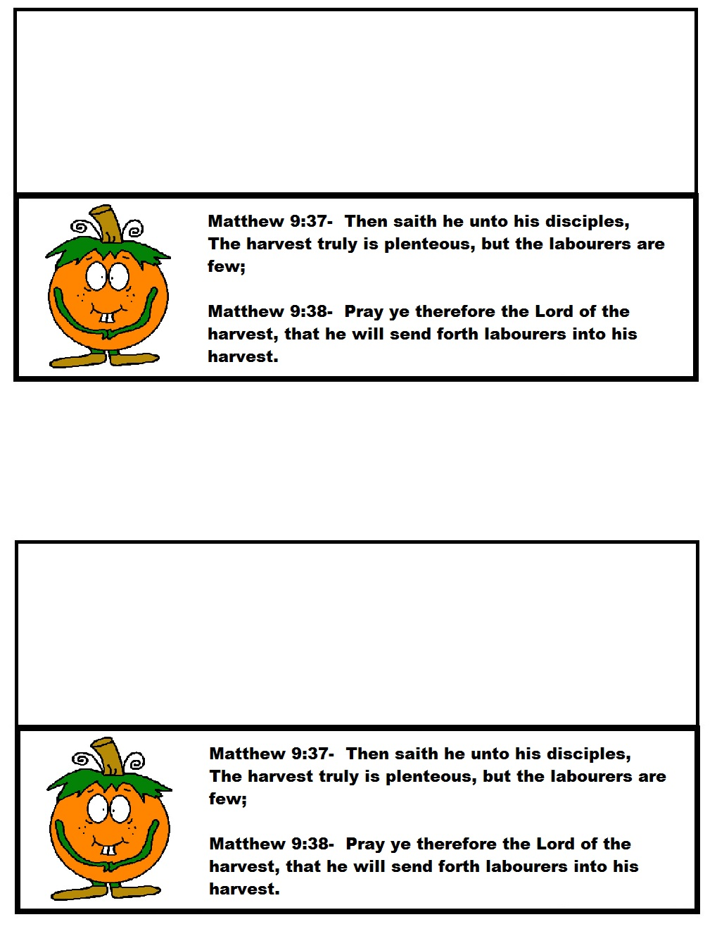 Pumpkin Sunday School Lesson Preschool Kids Fall Lesson Plans