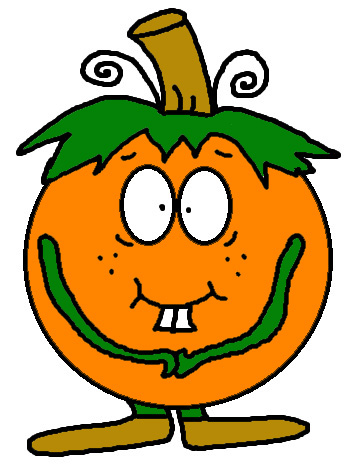 Free Pumpkin Clipart Images Cartoons Pictures Clip Art Illustrations For Fall by Church House Collection. Free Fall Cartoons
