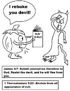 Christian Pumpkin Coloring Pages Pumpkin Rebukin Devil