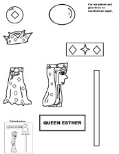 Queen Esther Activity Page