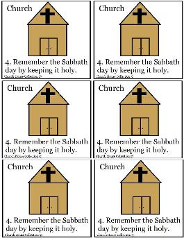 Remember The Sabbath Day To Keep It Holy Template
