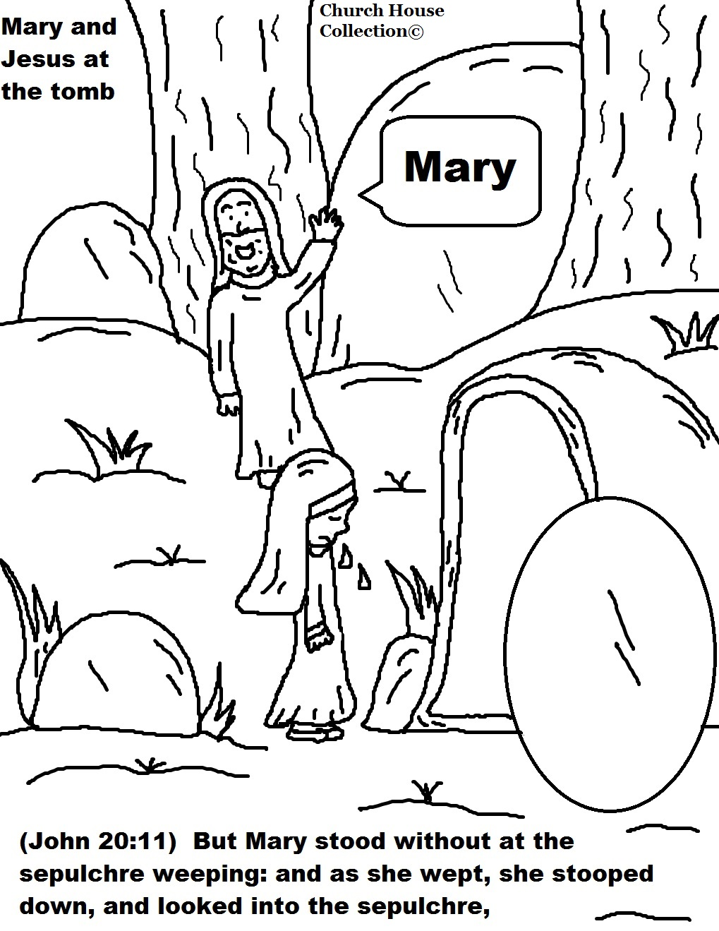 Free Coloring Pages Of Resurection Of Jesus