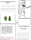 Samson and Delilah Wild Card, Samson and Delilah Sunday School Lesson