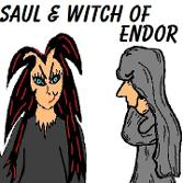 Saul and The Witch of Endor Sunday school lessons