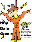 Hay Bale Game For Hay Sunday school lesson