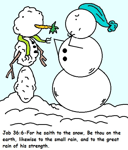 Snowman Christmas Sunday School Lessons