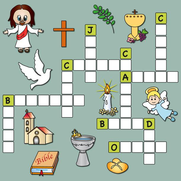 Sunday school word search puzzles and word finds for kids and adults