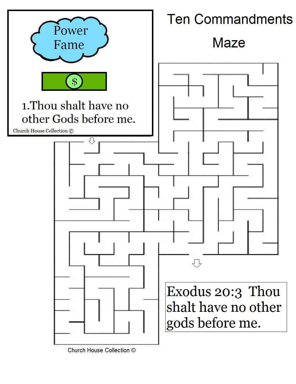 Thou Shalt Have No Other Gods Before Me Maze Images - Frompo
