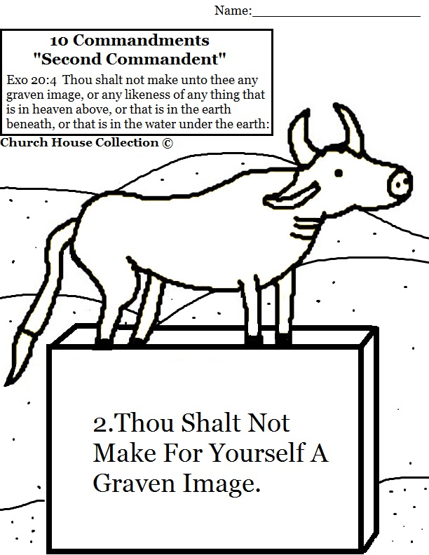 Free coloring pages of great commandment