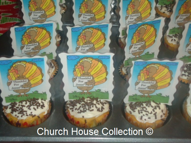 Free Turkey Thanksgiving Snacks For Kids in Sunday School, Children's Church or Church Dinners. Free Turkey Printable Cutouts For Cupcakes.
