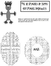 The 10 Plagues of Egypt Darkness Maze