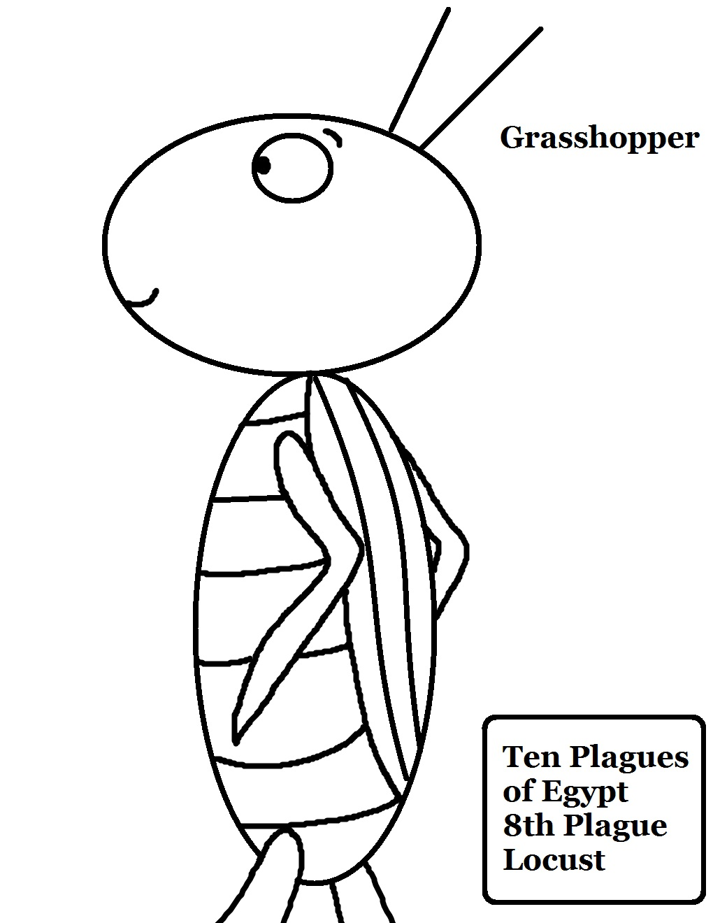 10 plagues of egypt locust lesson for Ten plagues of egypt coloring pages