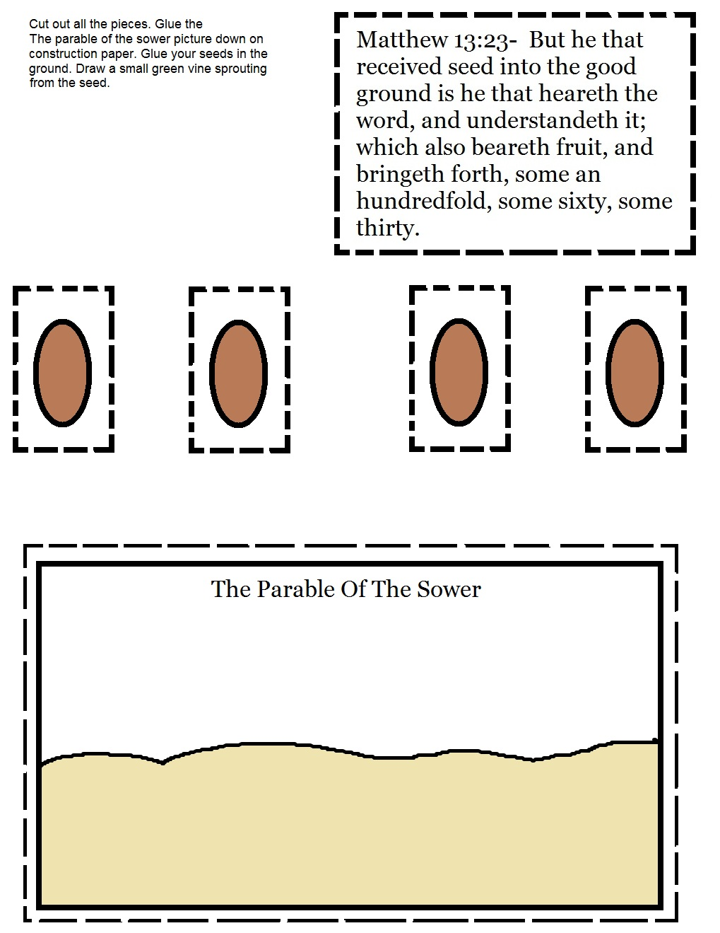 the parable of the sower sunday lesson