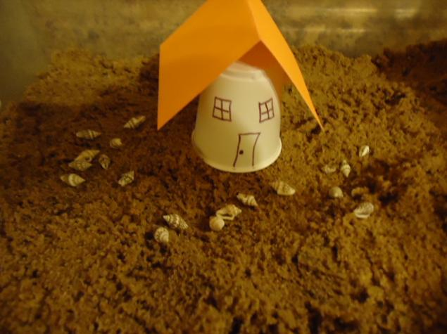 Parables of Jesus Object Lessons by Church House Collection Sunday School Lesson for Children's Church Rocks Sand and House With Plastic Containers Hands on Craft ideas