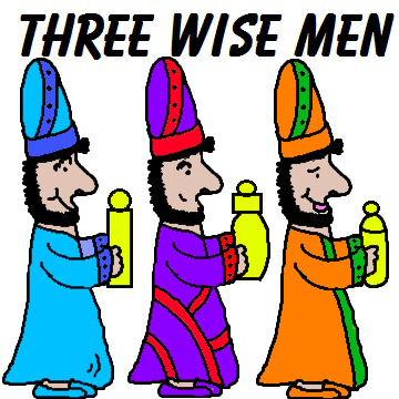 "Free Christmas ""Three Wise Men"" Sunday School Lessons and Crafts for Kids in Children's Church by Church House Collection"