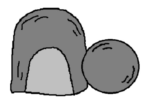 Easter Tomb Clipart