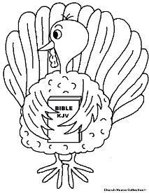 turkey coloring pages images bible - photo#6