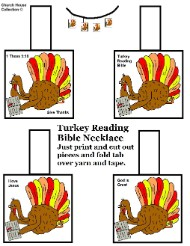 Turkey Necklace Craft