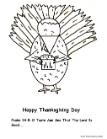 Turkey Coloring Pages Turkey Eating Cupcake Coloring Page