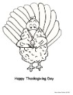 Turkey Coloring page, Turkey Eating Sucker Coloring Page
