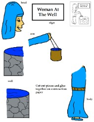 Woman At The Well Activity Sheet