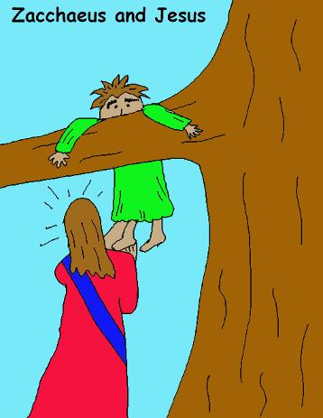 Zacchaeus Free Sunday School Lessons for kids by Church House Collection