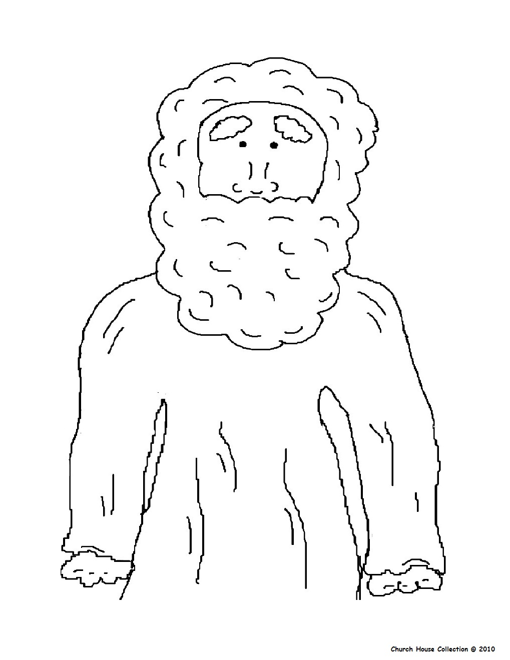 Coloring pages zacchaeus -  Colouring Page Of Abraham No Words At Http Www Churchhousecollection Com Resources Abraham 20no 20name 20coloring 20page Jpg