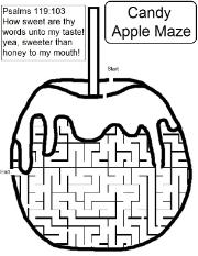 Candy Apple Maze