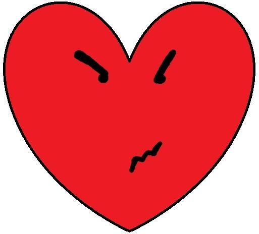 Bear Holding Valentine Heart Clipart
