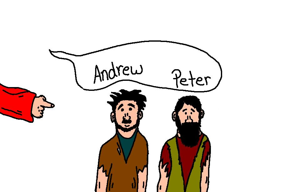 jesus and peter clipart - photo #22