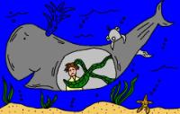Jonah and The Whale Clipart Picture