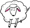 Sheep Clipart- Animal Clipart