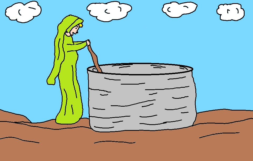 clipart jesus and the woman at the well - photo #16
