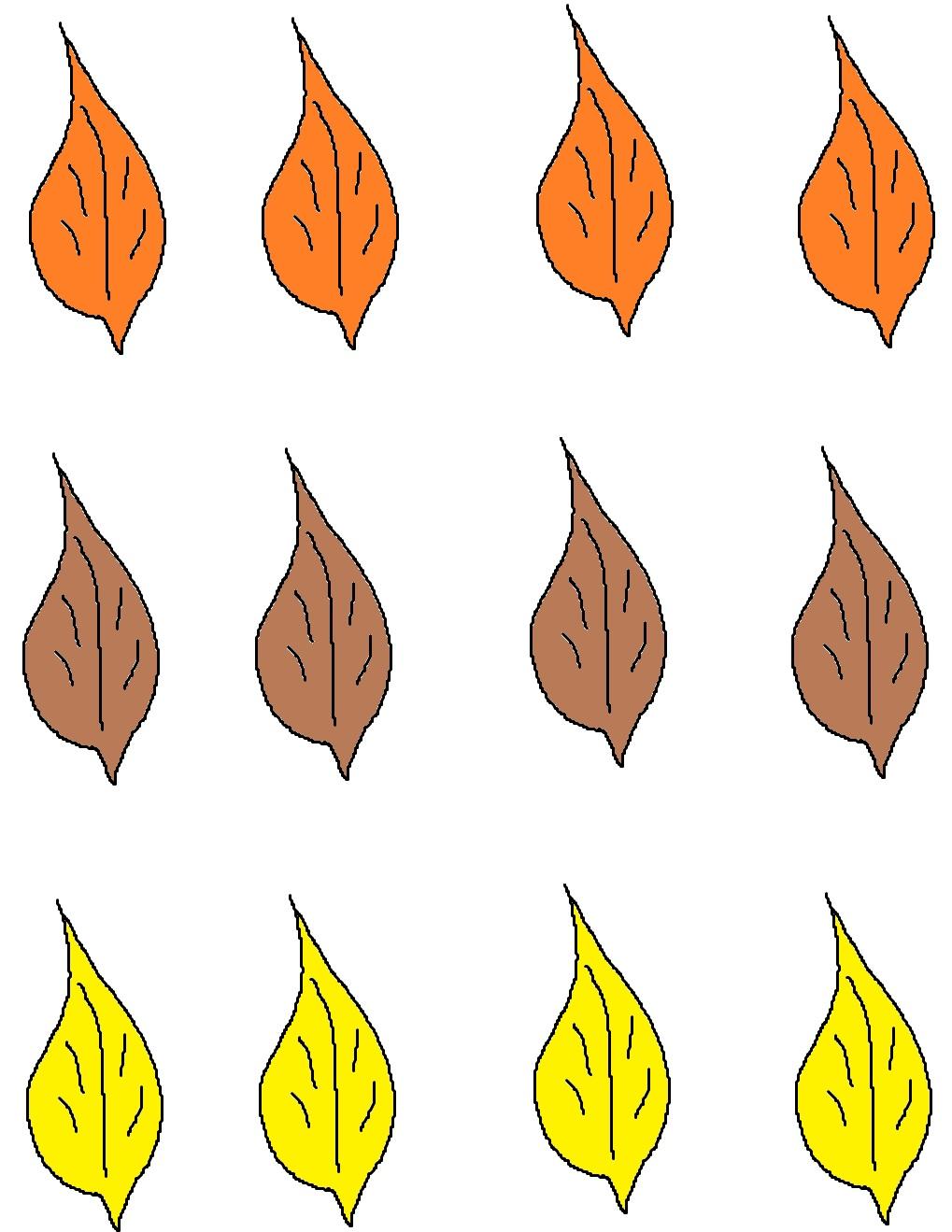 fall template