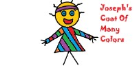 Joseph And The Coat Of Many Colors  Popsicle Stick Craft