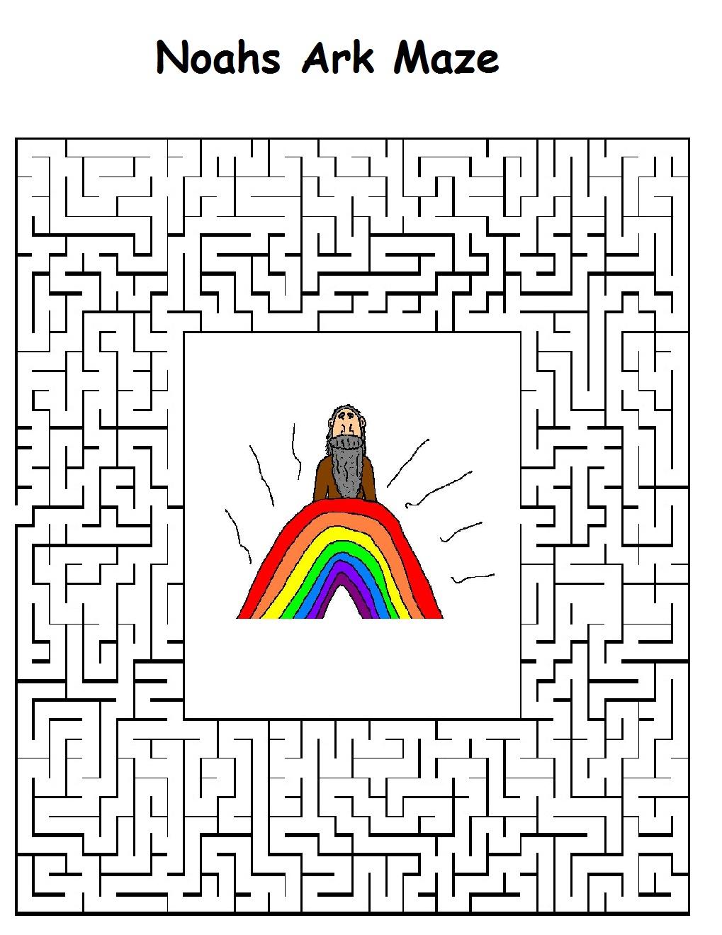 noahs ark sunday school lesson plan for kids in sunday school