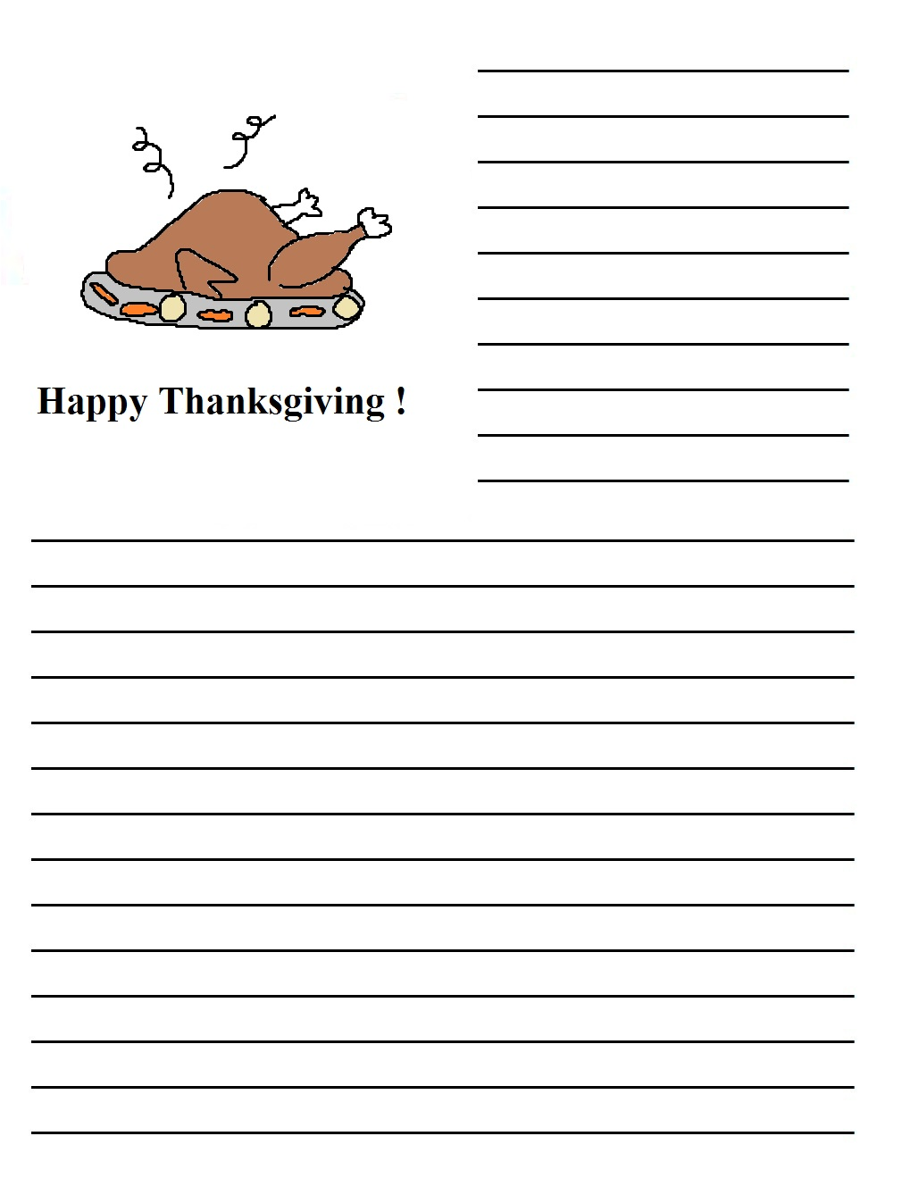 An Essay on Thanksgiving Day for Students, Kids and Children