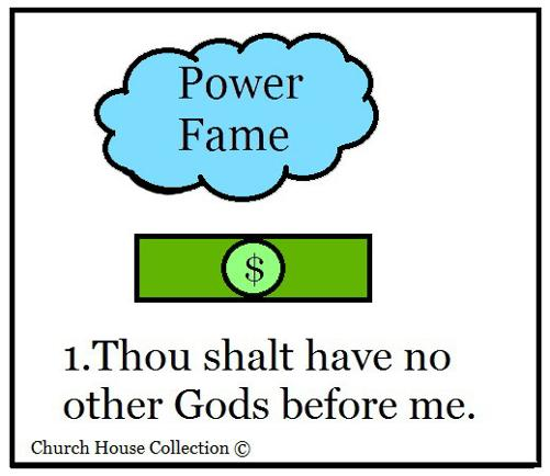10 Commandments Lesson Plan - Thou Shalt Have no other Gods Before Me Lesson Plan