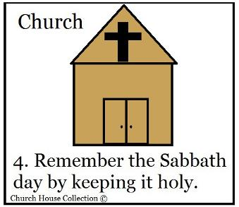 Remember The Sabbath Day and Keep It Holy Sunday School Lesson Ten Commandments