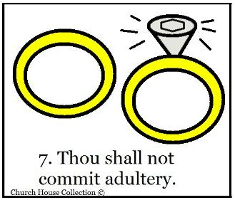 Thou shall not commit adultery sunday school lesson