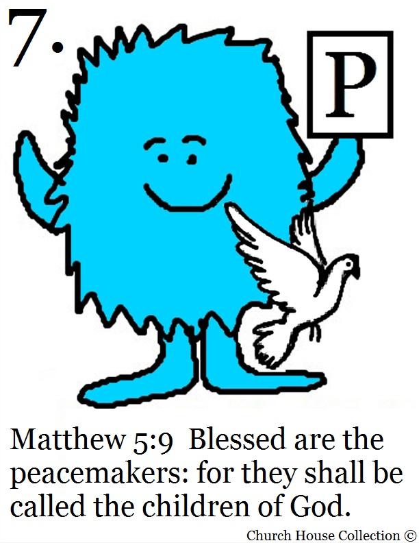 The Beatitudes Cards Free Printable Template – Beatitudes Worksheet