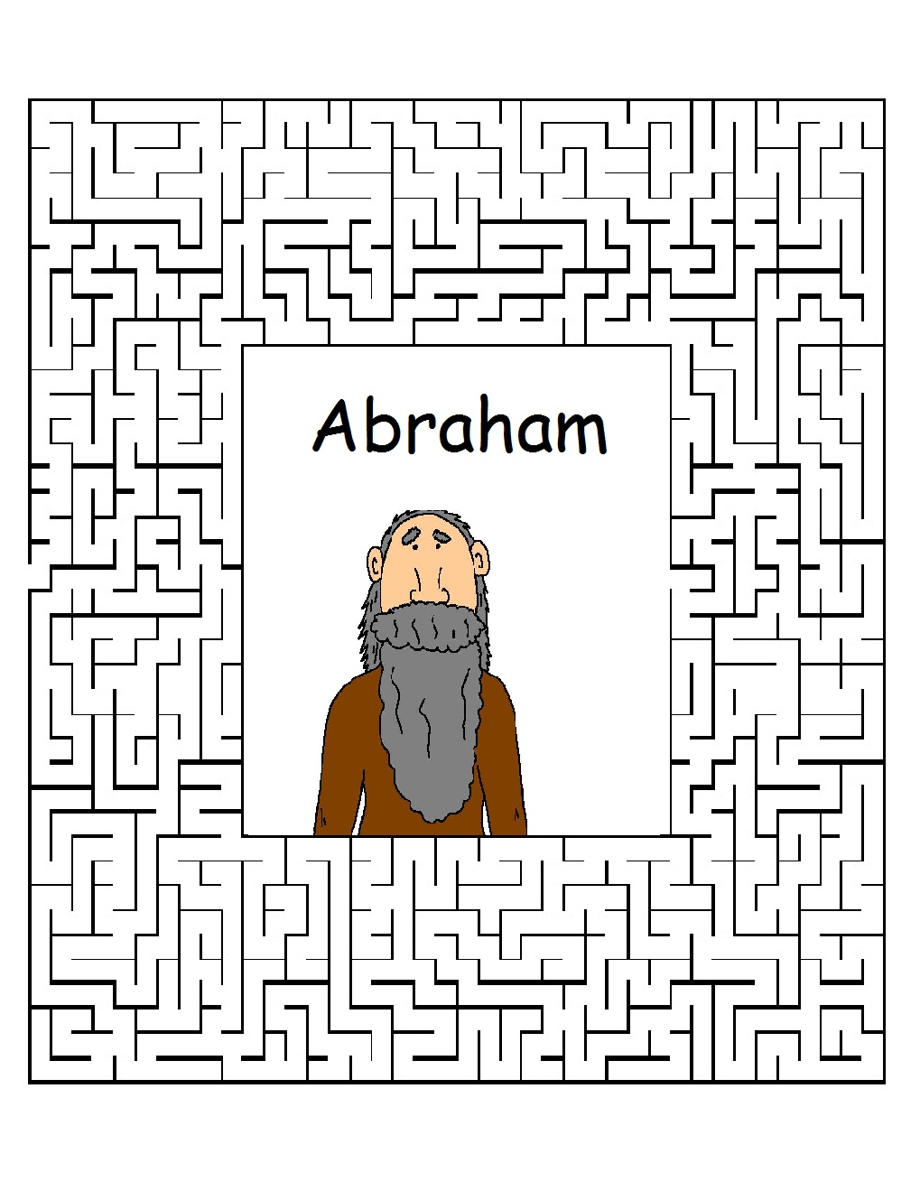 Abraham Sunday School Lessons Preschool Kids Bible Lesson