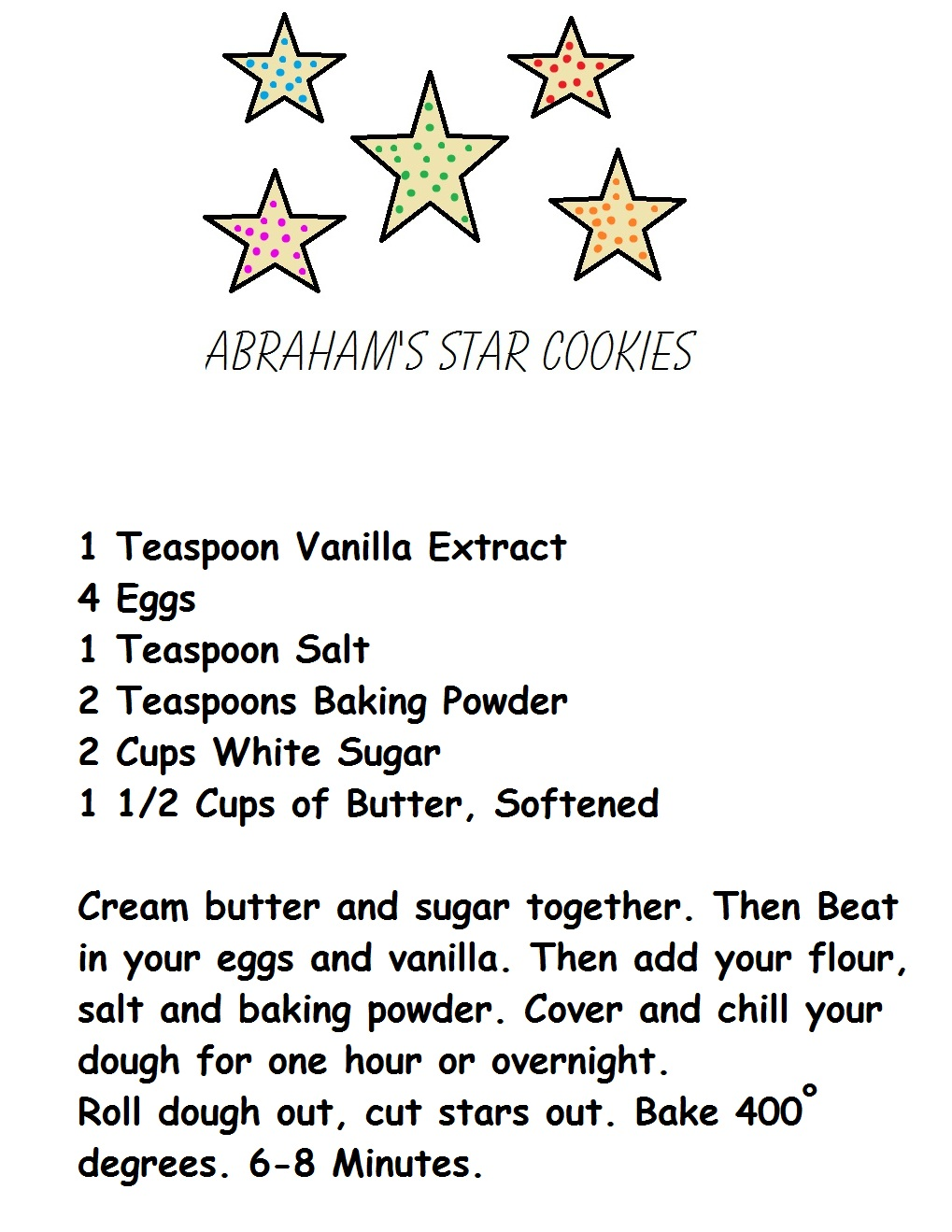 Homemade sugar cookie recipes from scratch