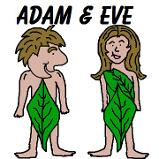 Adam and Eve Sunday School Bible Coloring Pages