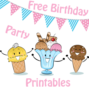 Free Birthday Party Printables- www.freebirthdaypartyprintables.com