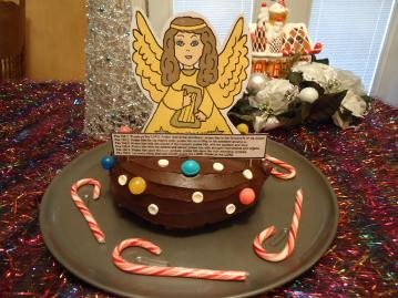 Angel Praise The Lord Cake