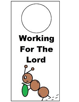 Bible Doorknob Hangers