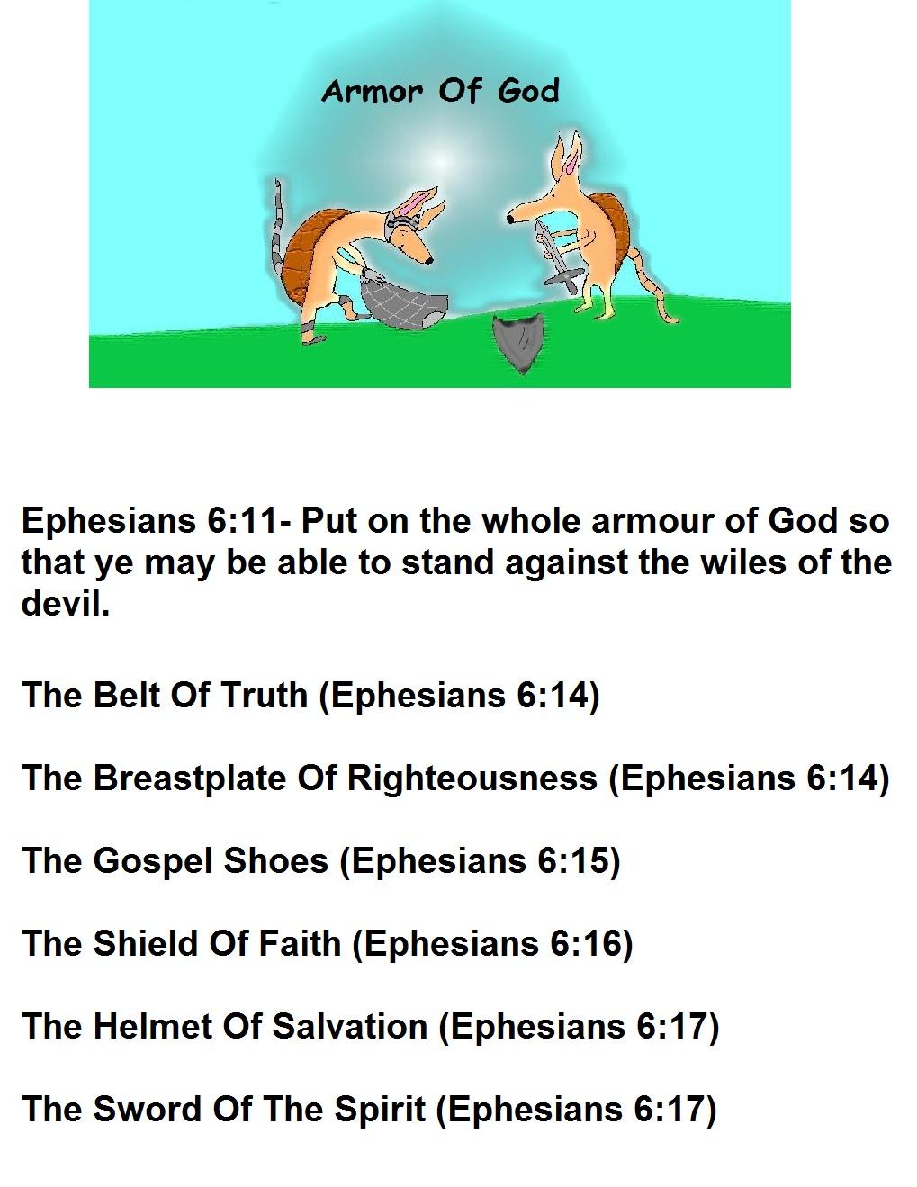 armor of god template jpg