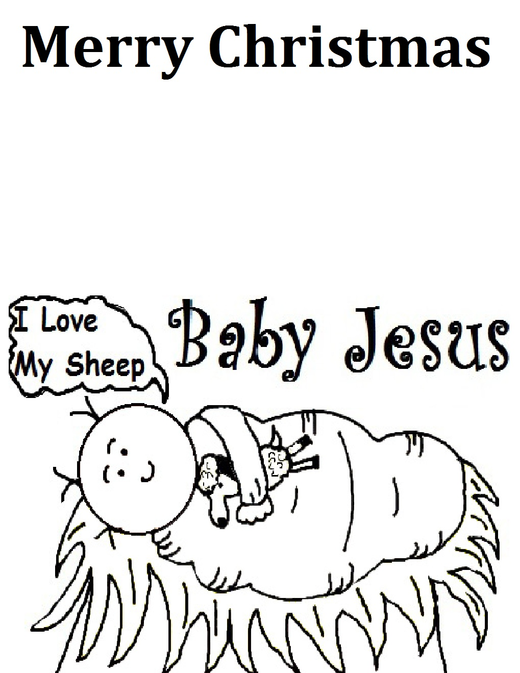 Coloring Page The Birth Of Jesus Pages