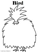 Bird Coloring Pages- Animal Coloring Pages for kids